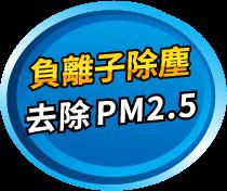 負離子除塵 去除 PM2.5