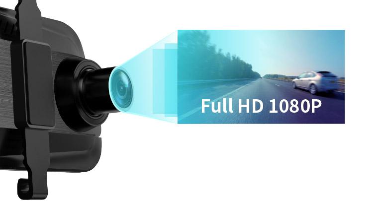 超高清解析度搭配 9.66 吋大螢幕和 130 度超廣角